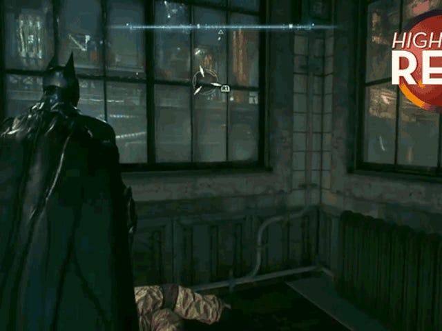 Quand le crochet de Batman se trompe