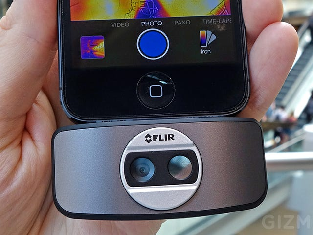 The Smaller, Cheaper, FLIR ONE Thermal Camera Now Works With Other Apps
