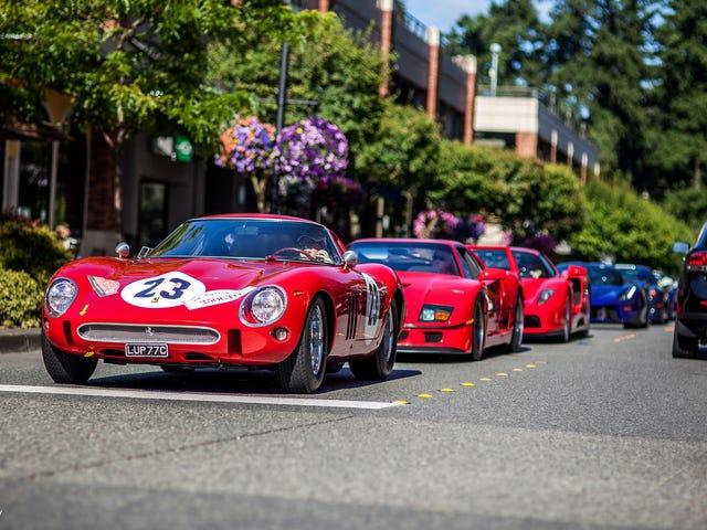 Exotics Redmond - Ferrarin päivänä