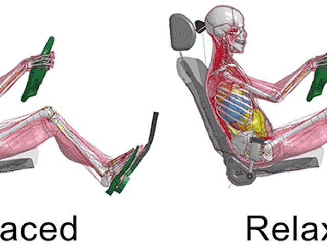Toyota's Crash Test Simulators Now Account for Bodies Braced for Impact