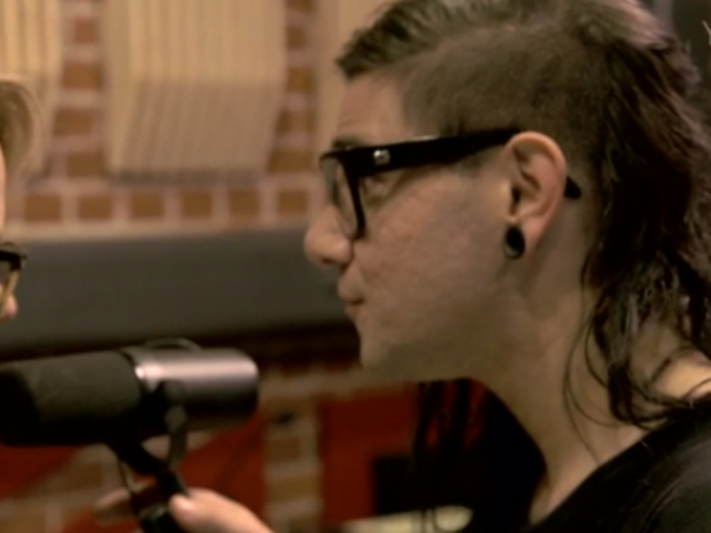 Best Buds Katie Couric & Skrillex Recorded a New Song Together