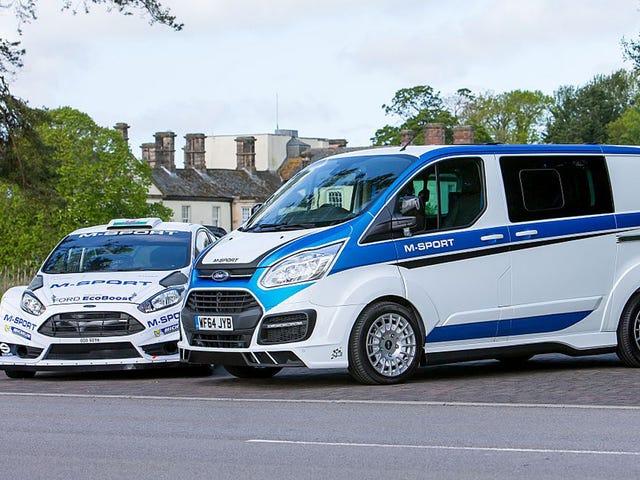 RE-POST PER LA SERATA CROWD DEGLI STATI UNITI.  Furgone Ford Transit M-Sport in edizione limitata.