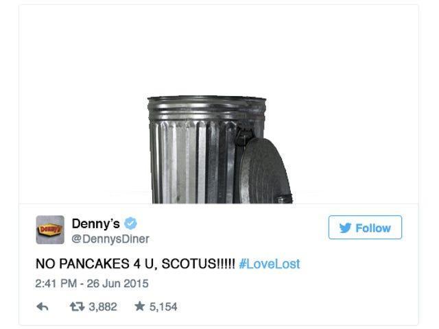Smutne tweety marki, które widziałbyś, gdyby gubił się małżeństwo homoseksualne