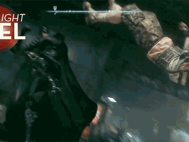 Batman Kicks Un Henchman Silly