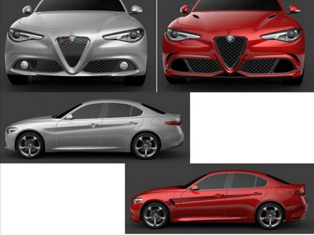 The non-QV Alfa Giulia still looks good