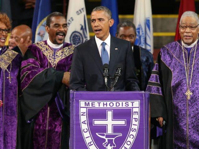 พลังและความเศร้าของการเรียกร้องของเกรซประธานาธิบดีคนผิวดำ