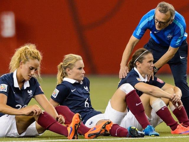 Ranska rakensi maailman parhaan naisten jalkapallojoukkueen ja vielä kadonneen