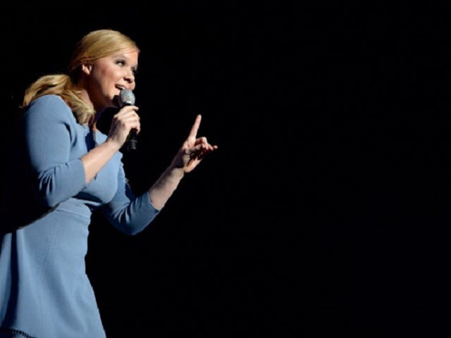 Amy Schumer: 'I'm Not Going to Look Like a Malnourished Bird'