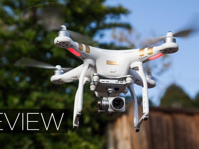 DJI Phantom 3 Review: Impresionante video + controles más fáciles = Hell Yes