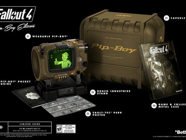 Ваші великі дупи телефонів не вписуються в реплік Fallout 4 Pip-Boy