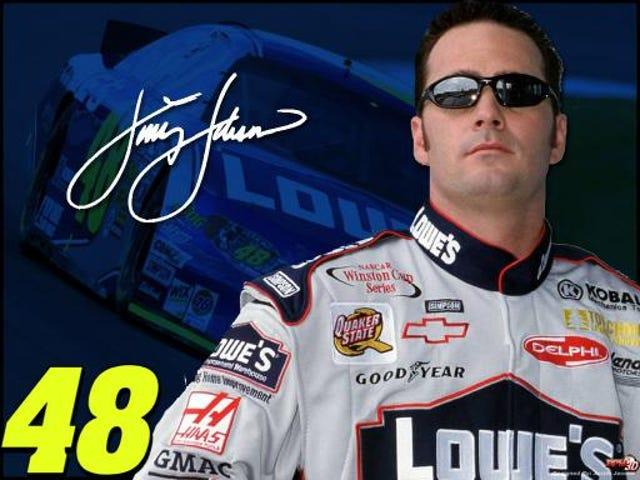ความจริงที่น่าสนใจ: ชื่อ Jimmie Johnson เป็นชื่อจริง Jimmie