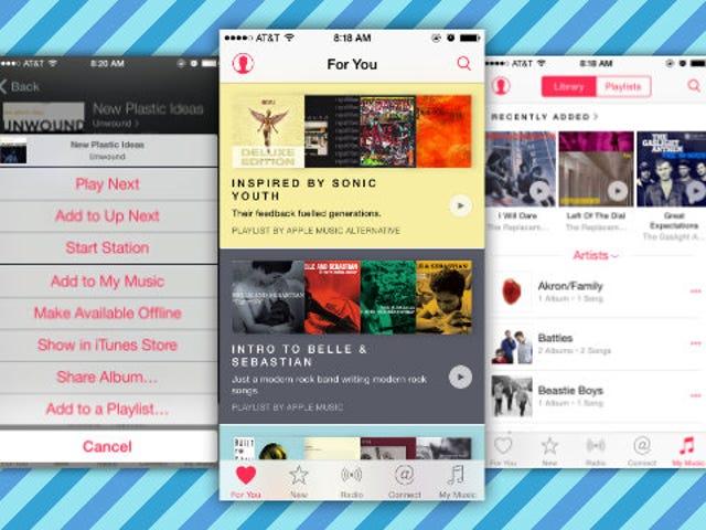 IOS 8.4 og Apple Music er nu tilgængelige