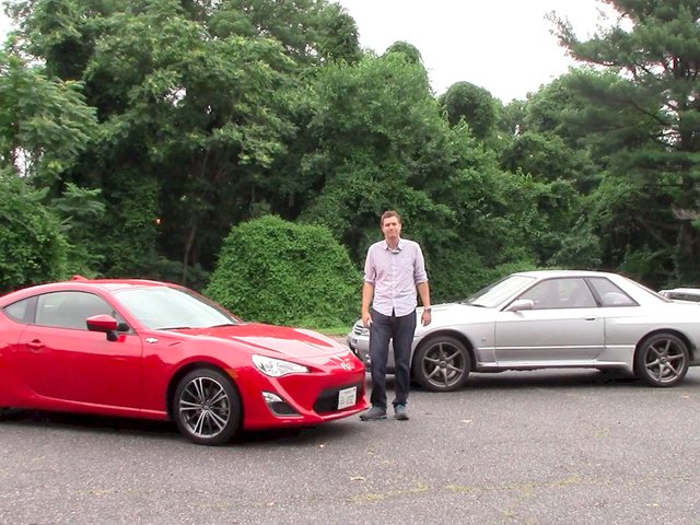 1990 Nissan Skyline GT-R vs. 2015 Scion FR-S: Which Is Better?