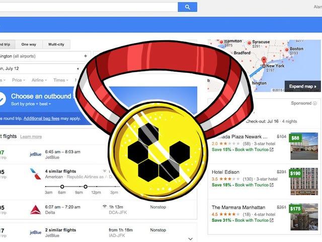 Most Popular Cheap Travel Booking Site: Google Flights