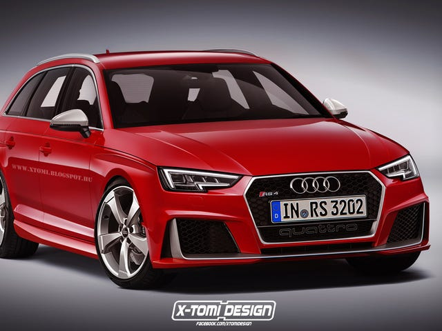 With the new A4 face, will the RS4 look like this?
