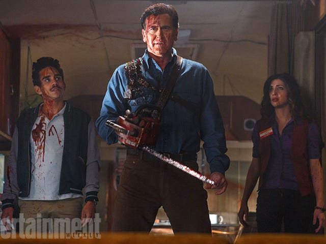 Bruce Campbell Is Back As Ash in First Evil Dead TV Show Photo