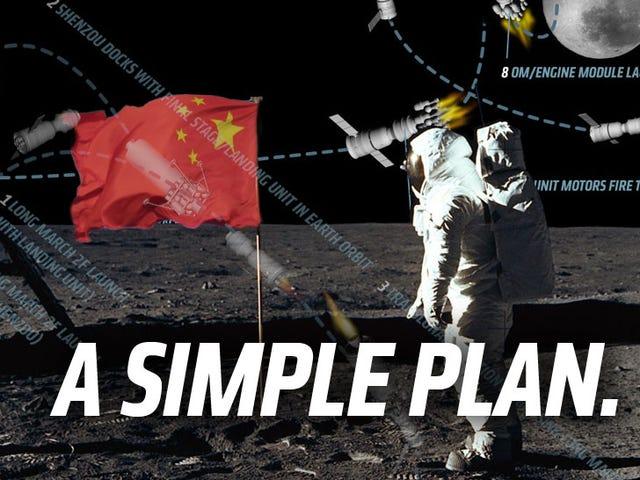 Đây là cách Trung Quốc có thể hạ cánh người dân trên mặt trăng vào năm 2020