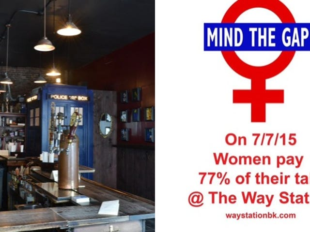 Brooklyn Bar to Charge Women 77 Cents on Every Dollar Men Pay
