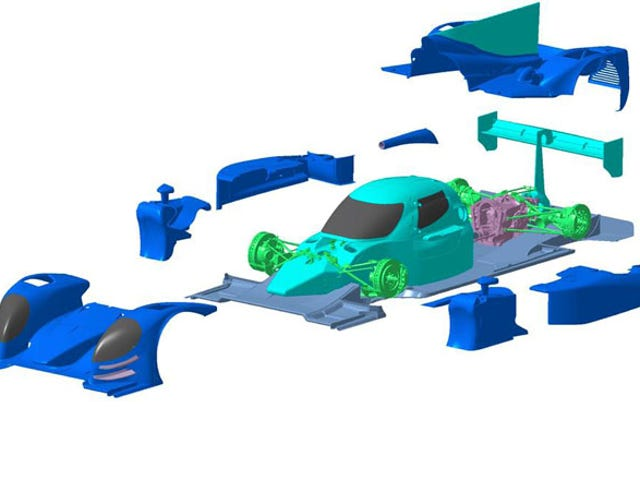 Đây là những gì các nguyên mẫu Racer của tương lai sẽ trông như thế nào