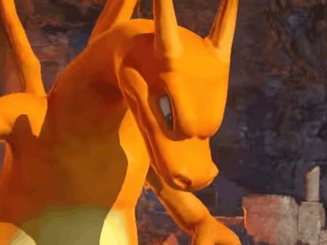 Charizard estará en el juego de peleas de Pokémon, y no podrás jugarlo