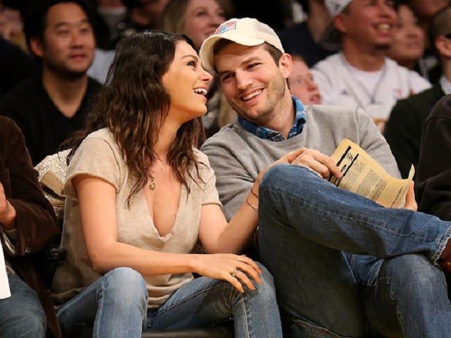 Ashton Kutcher y Mila Kunis quizás se casen este fin de semana