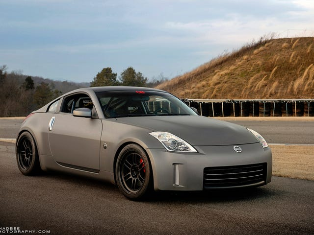 Your Ridiculously Awesome Nissan 350Z Wallpaper Is Here
