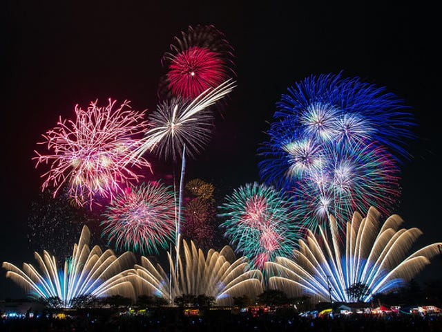 These are the Minerals That Give Fireworks Their Colors