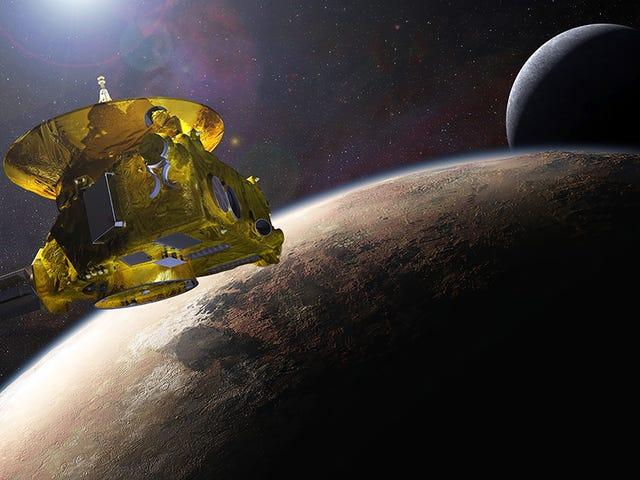 La NASA logra decver un inesperado Problema con la sonda New Horizons