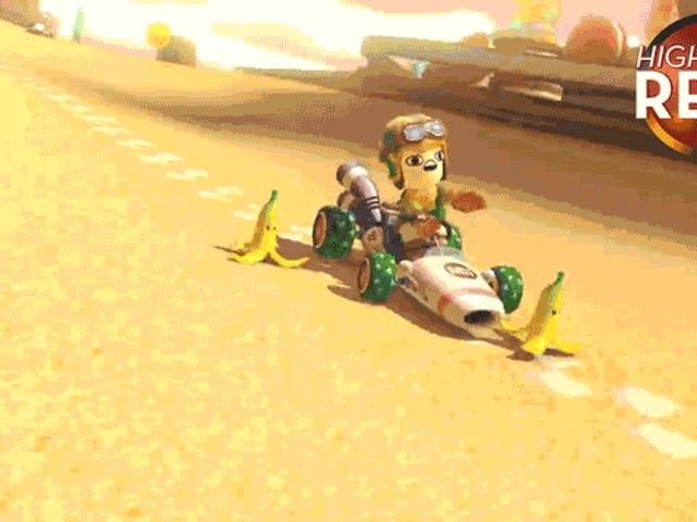 Bowser Mendapat Pisang Dibom Di <i>Mario Kart</i>