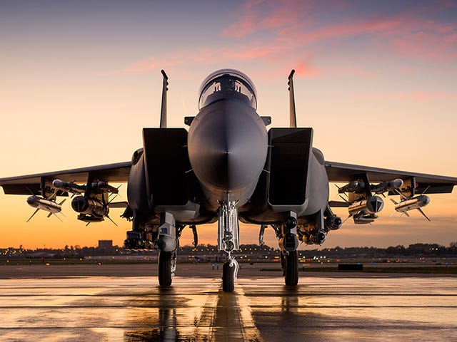This Is A Fully Armed F-15SA, The Most Advanced Production Eagle Ever