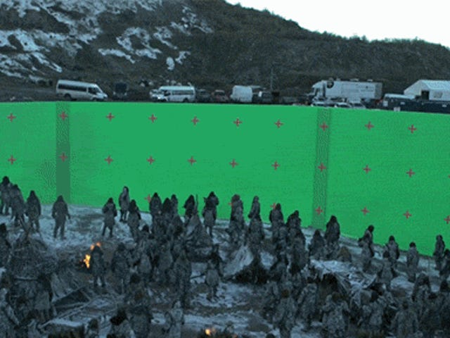 Les effets spéciaux <i>Game of Thrones'</i> épique bataille de White Walker sur <i>Game of Thrones'</i>