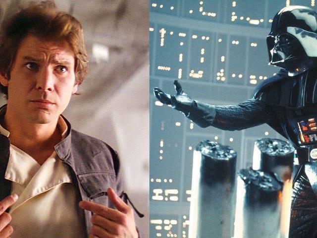 Darth Vader und Han Solo spielen in <i>Star Wars</i>