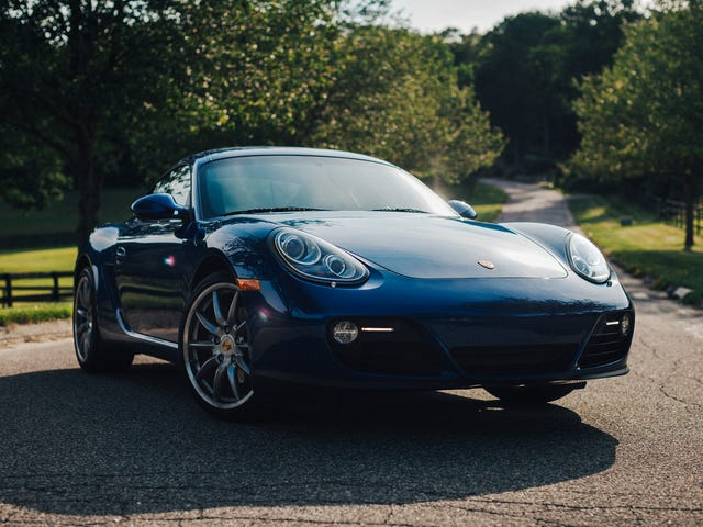 Korkean resoluution kuvat // Porsche Cayman