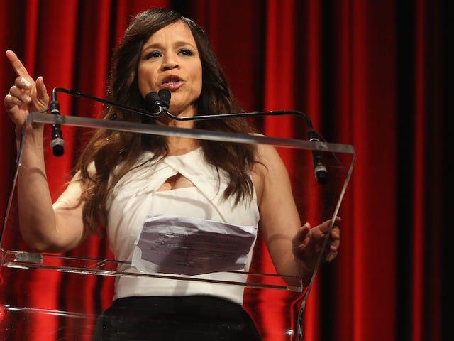 Rosie Perez forlader udsigten, for ægte denne gang