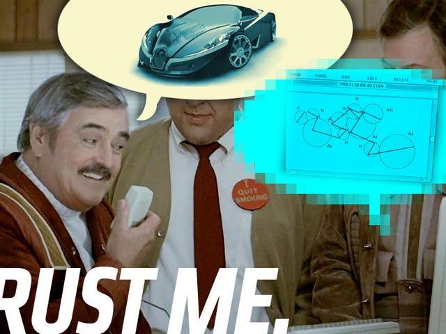 Tại sao Bugatti Veyron kế nhiệm nên sử dụng nhôm trong suốt