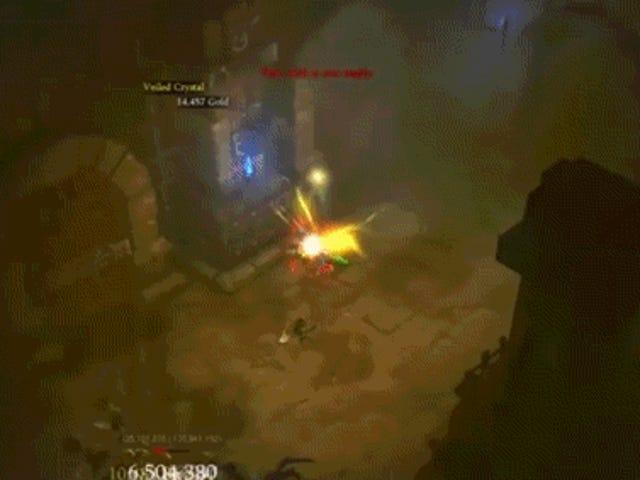 Correr como un pollo enojado es una forma divertida de jugar <i>Diablo III</i>