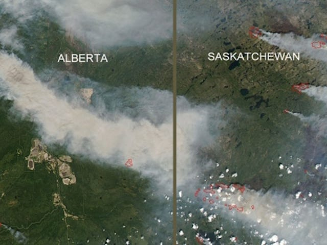 Hur jag sparade (En liten ö i) Kanada Från Wildfire