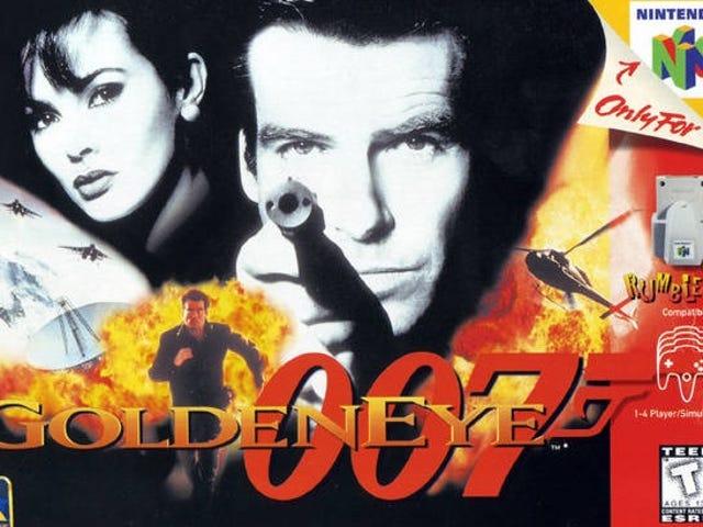 Revive l'ère de Nintendo 64 avec le son de GoldenEye 007
