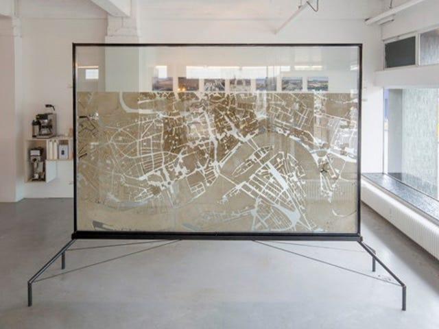 Denne smukke kort over Rotterdam er faktisk en gigantisk myrgård