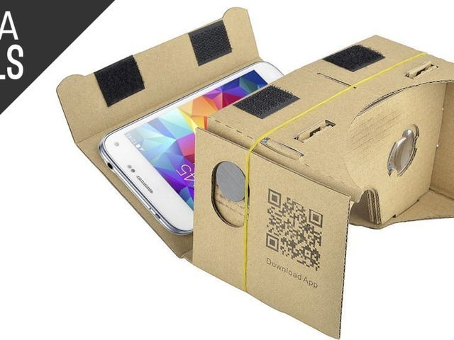 Give Virtual Reality a Try With This $5 Google Cardboard Kit