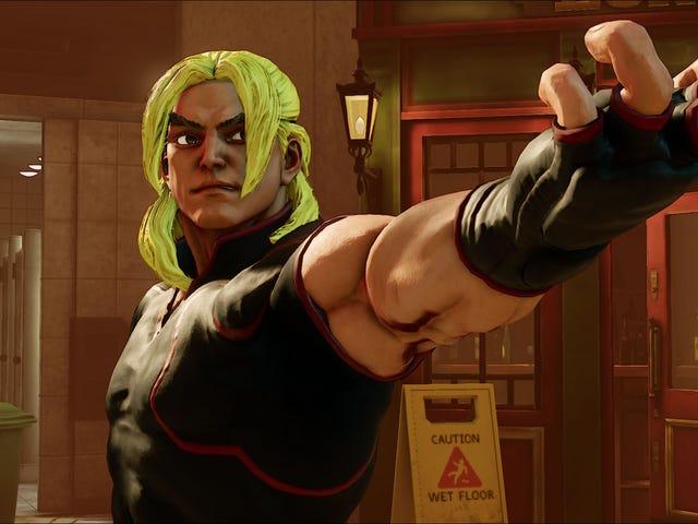 <i>Street Fighter's</i> Ken <i>Street Fighter's</i> έχει ξανασχεδιαστεί
