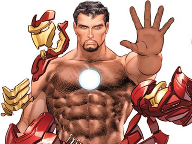 Marvel Is Putting Naked Superhero Bodies in ESPN Magazine's Body Issue