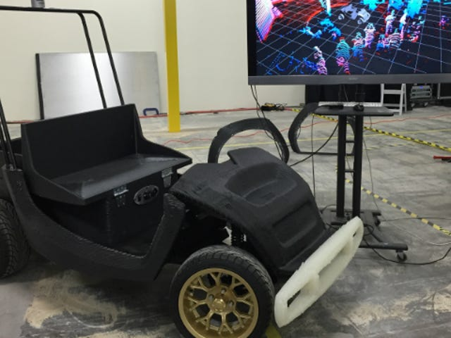 Here's a 3D-Printed, Self-Driving Mini Car
