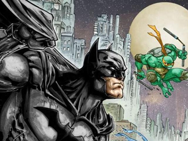 I sidste ende er Batman sammen med Teenage Mutant Ninja Turtles