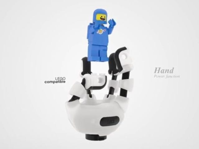 Somebody invented a prosthetic limb compatible with LEGO