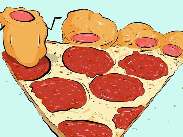 Pizza Hut's Hot Dog Pizza ei ole kovin tarpeeksi paljon