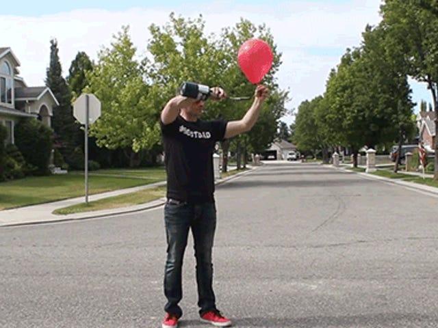 Jak zamieniać balony w proste fajerwerki, które tylko boom