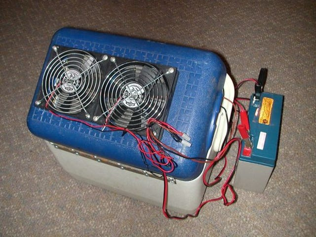 Cool Your Boat Cabin With a Portable DIY Air Conditioner