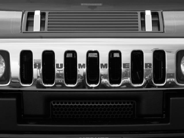 Η GM δεν θυμήθηκε το Hummer πάνω από τις πυρκαγιές μέχρι να τους απειλήσει οι Feds