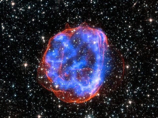天文学者が記録的な超新星を発見